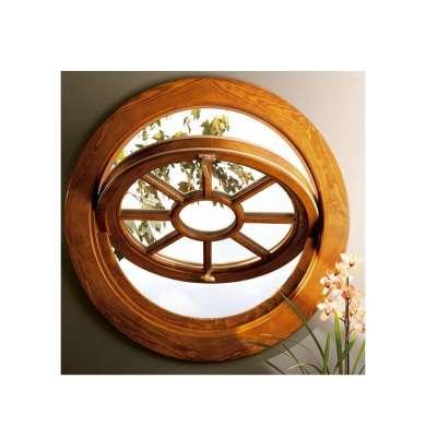 WDMA Aluminum Cladding Wood Window Pivoting Window Round Window Circle Window