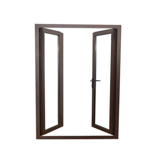China WDMA Frosted Glass Interior Door