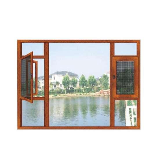 WDMA Aluminum Wood Window