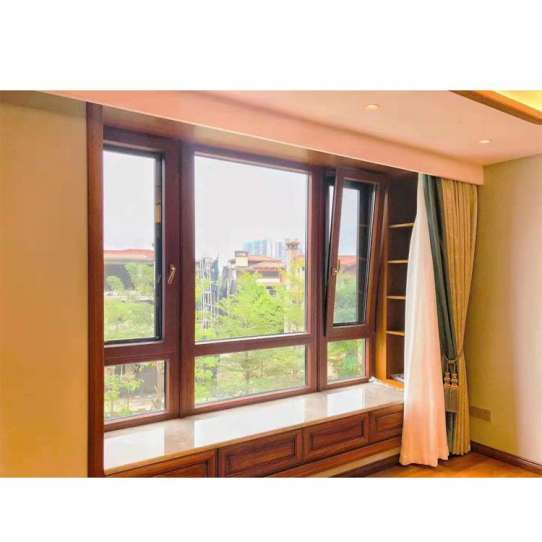 WDMA Aluminum Clad Wood Casement Window