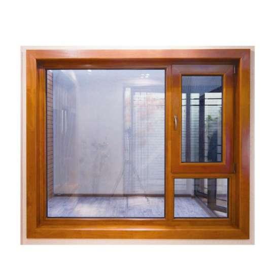 China WDMA Aluminum Clad Wood Casement Window