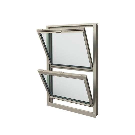 WDMA American Style Vertical Sliding Window Plate Glass Window Price