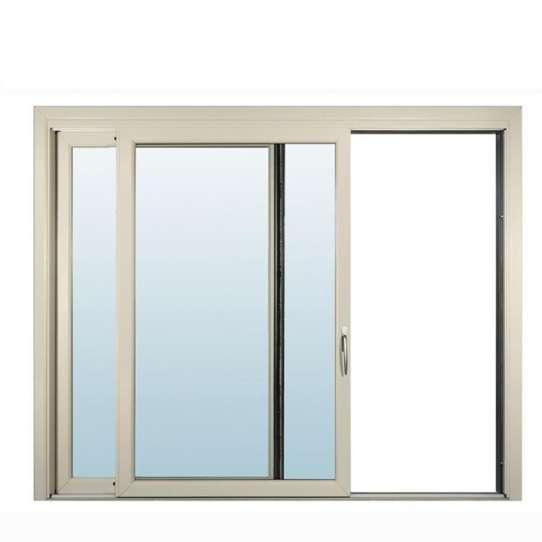 China WDMA Anodized Aluminium Frame Bronze Color Window