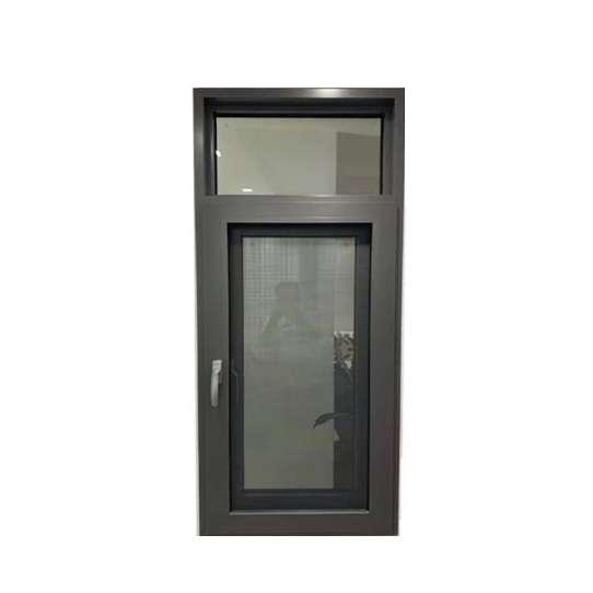 WDMA Apartment Window Arch Design Double Glass Aluminium French Bay Door Window Price