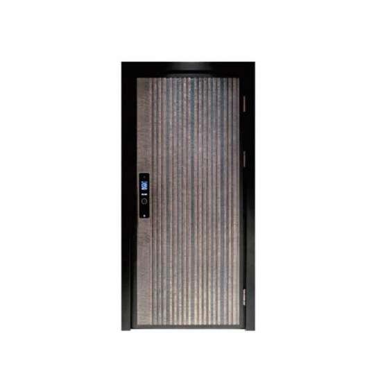 WDMA Arch Aluminium Flush Room Single Watertight Door Design For Warehouse