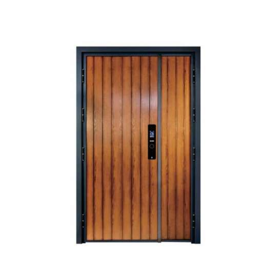 WDMA aluminium flush door Aluminum Casting Door