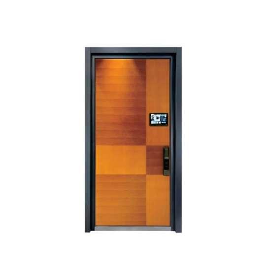 China WDMA Arch Aluminium Flush Room Single Watertight Door Design For Warehouse