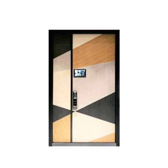 China WDMA aluminium flush door Aluminum Casting Door