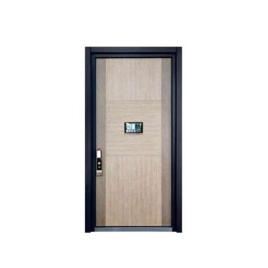 WDMA Arch Aluminium Office Swing Steel Panel Door Price Specification