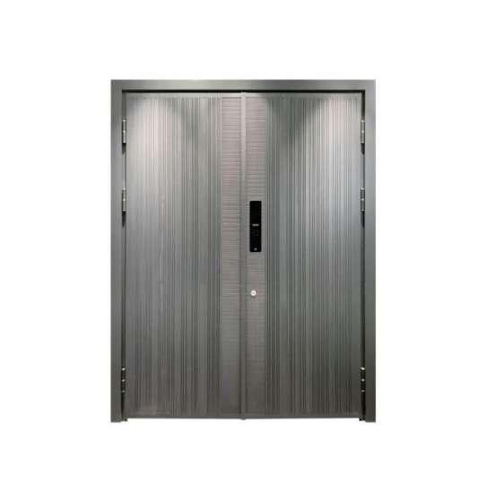 China WDMA Arch Aluminium Office Swing Steel Panel Door Price Specification