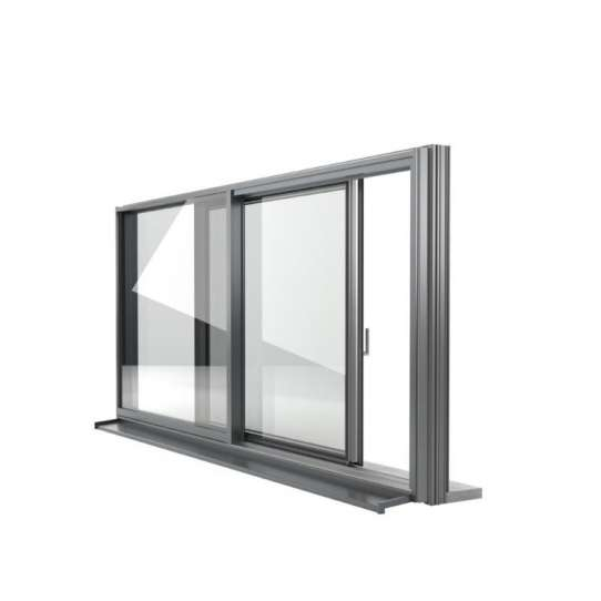 China WDMA Black Pictures Aluminum Sliding Window Door With Grill Inside Price Philippines