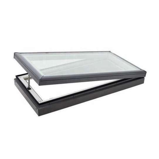 China WDMA Bronze Anodized Aluminum Energy Efficient Sky Light Window Flat Roof Window Price