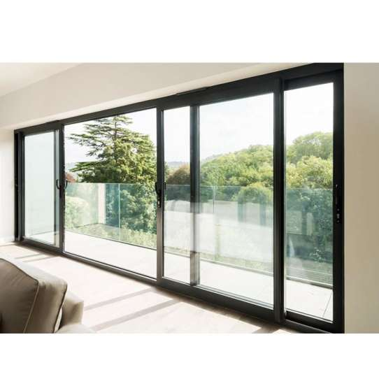 WDMA Bullet Proof Interior Aluminum Profile Removing Sliding Glass Arch Door And Window Price For Bedroom Philippines