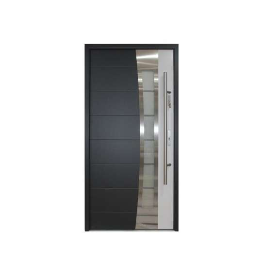 WDMA Modern Exterior Stainless Steel Door