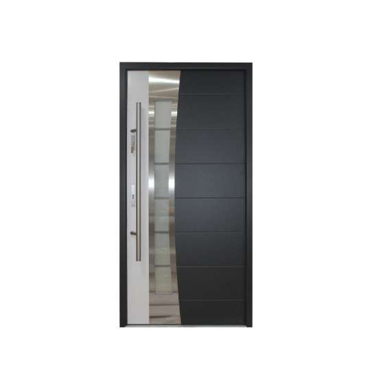 China WDMA Burglar Proof Designs 304 Stainless Steel Entry Safety Security Steel Doors Exterior Stainless Steel Front Door