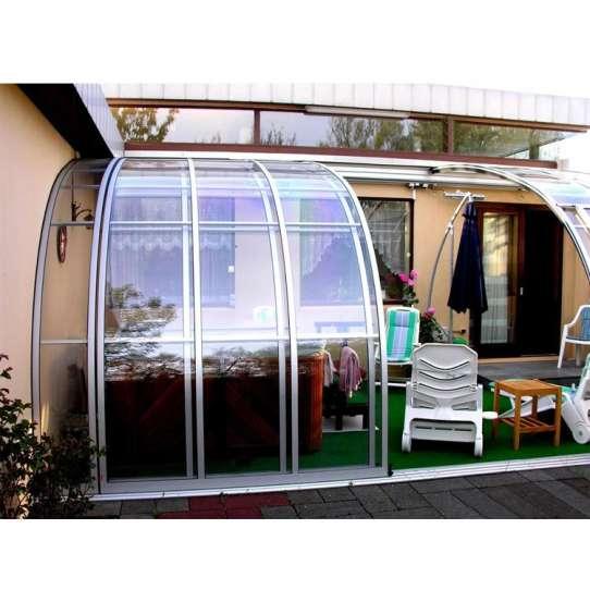 China WDMA Glass House For Pool