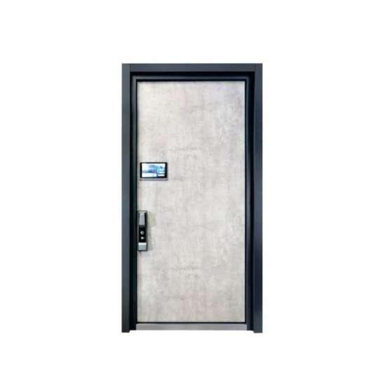 WDMA cast aluminum door