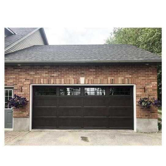 WDMA 8x7 Clear Glass Garage Door