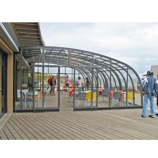 WDMA aluminum pool enclosures
