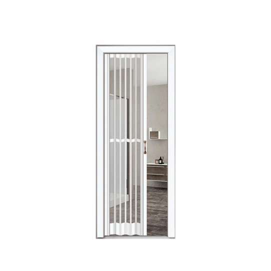 China WDMA Cheap Price Double Glazed Aluminum Folding Sliding Screen Doors For Sale