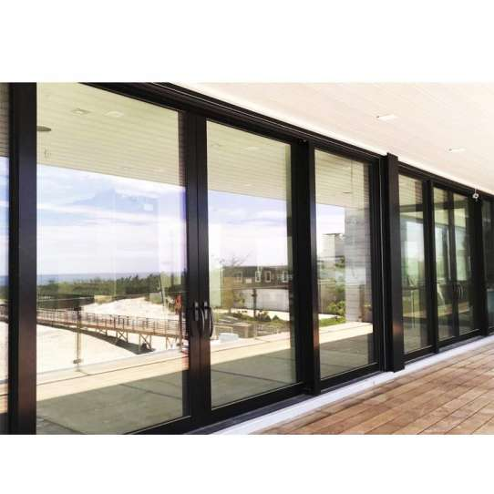 China WDMA Bullet Proof Sliding Glass Door