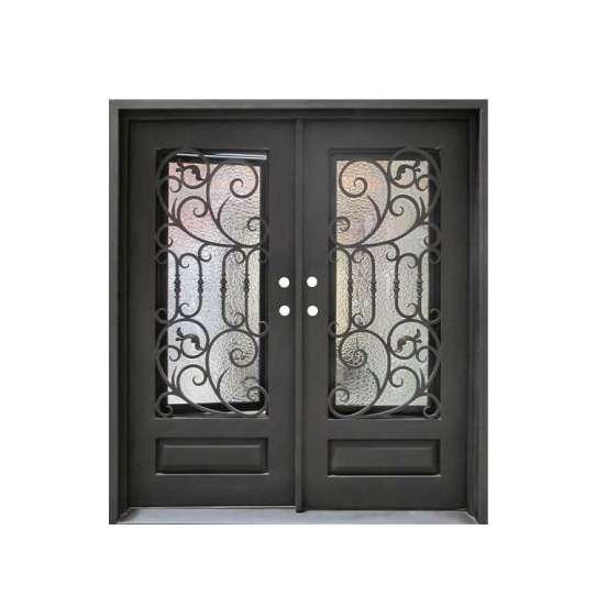 WDMA wrought iron door iron entrance door