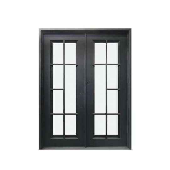 China WDMA wrought iron door iron entrance door