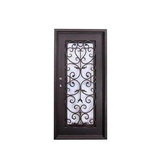 WDMA wrought iron gates prices steel door design catalogue