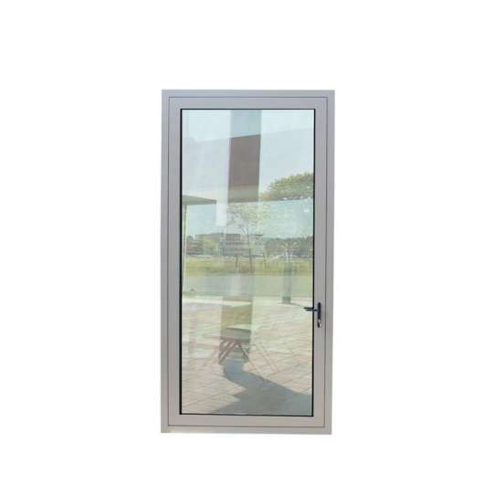 WDMA Stainless Steel Frame Glass Door