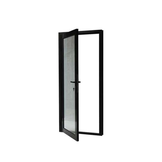 China WDMA Stainless Steel Frame Glass Door