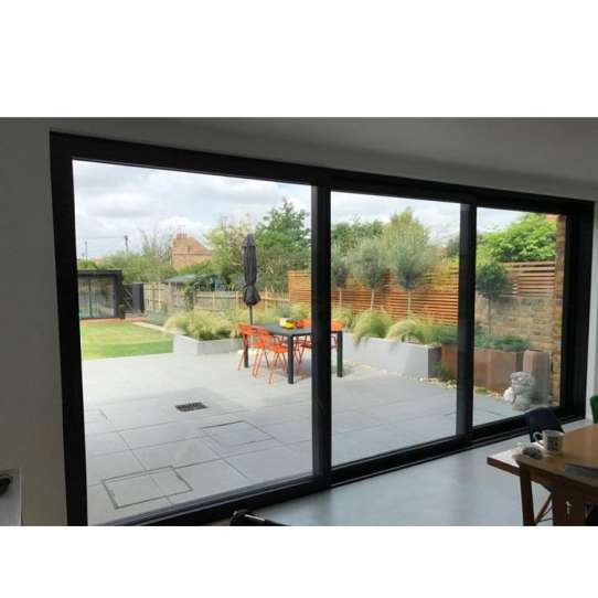 China WDMA Commercial Automatic Glass Sliding Doors Stainless Steel Entrance Sliding Doors For Exterior Entry