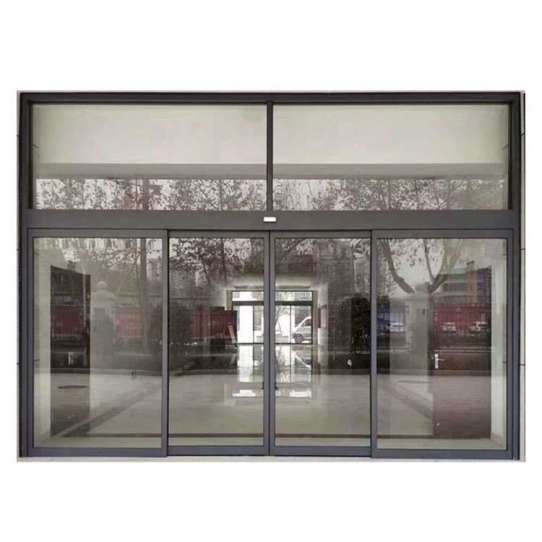 WDMA Automatic Commercial Sliding Front Door