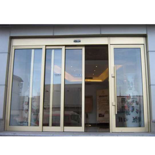 WDMA Automatic Glass Sliding Door
