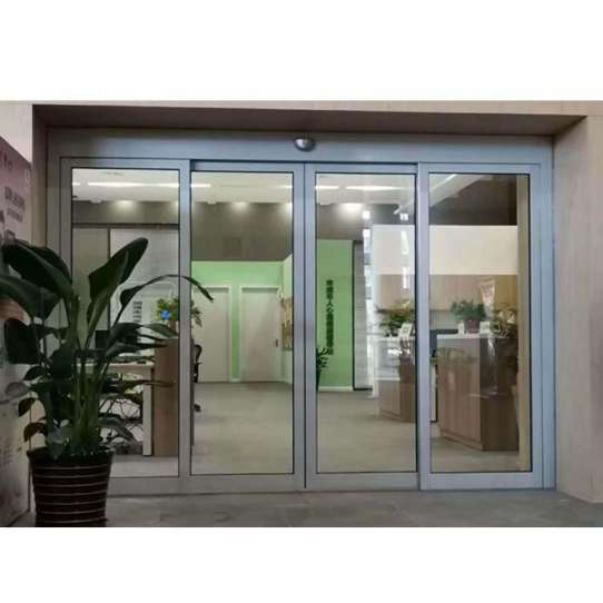 China WDMA Automatic Commercial Sliding Front Door