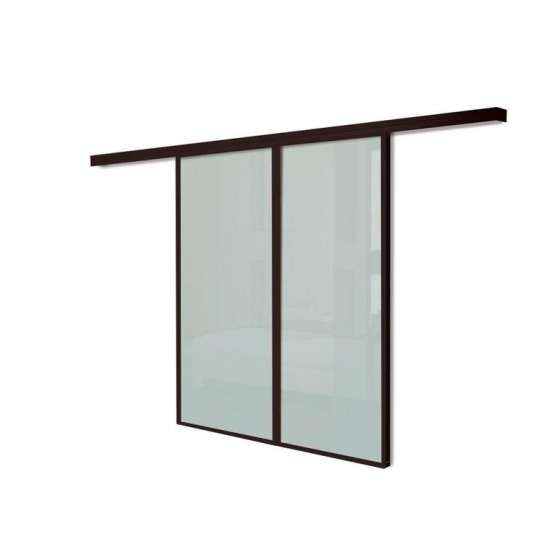 China WDMA Commercial Price Of Aluminum Multi Slide Tempered Glass Main Entrance Door For Nigeria Market