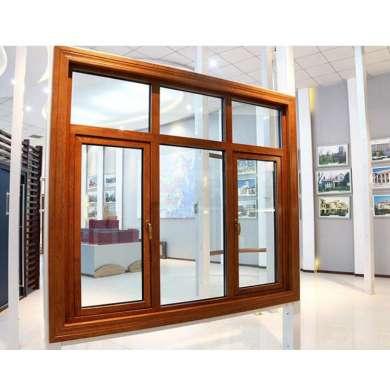 WDMA Custom Aluminium Aluminum Clad Wood Window Passive House Window