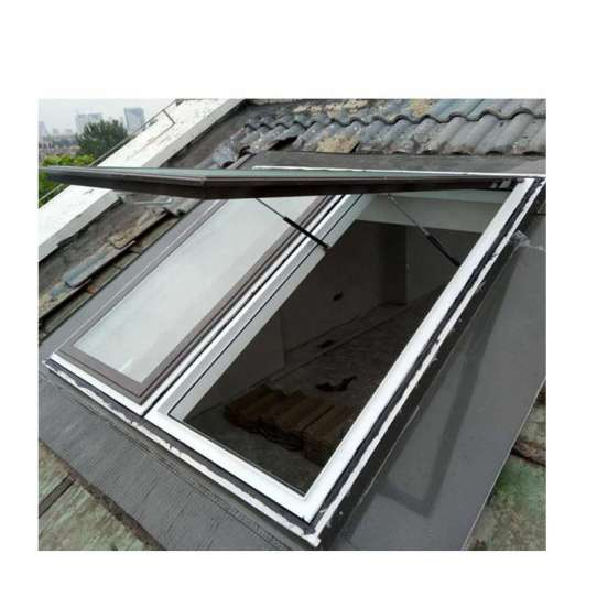 WDMA Custom Aluminum Skylight Triple Glazed Roof Window Design