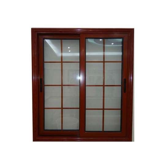 China WDMA White Aluminium Frame Glass Window