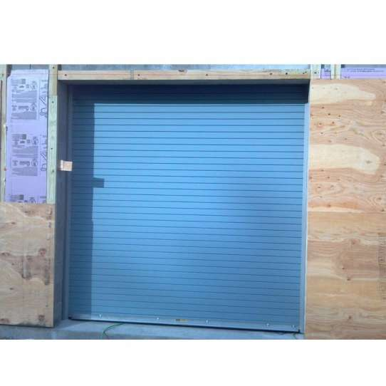 China WDMA Design Automatic Roll Up Sectional Wood Color Overhead Unbreakable Polycarbonate Garage Door Rolling Insulated