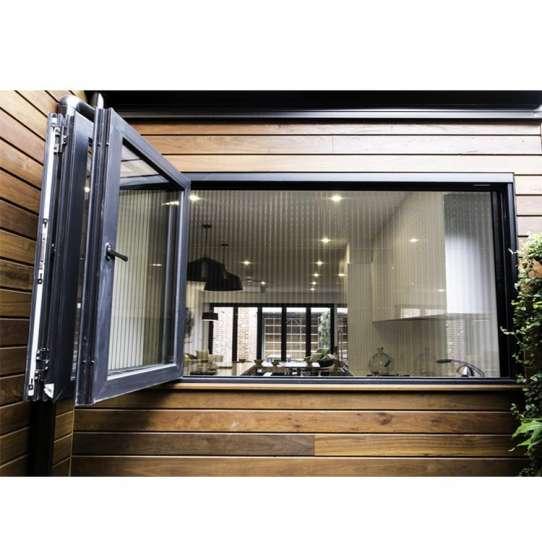 China WDMA Aluminum Folding Glass Window