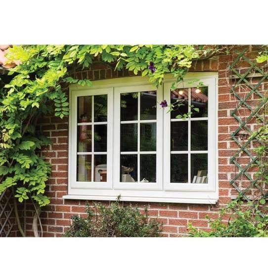 WDMA Thinner Frame Aluminum Wood Window