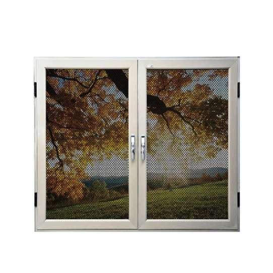 China WDMA European And America Standard White Aluminum Profile Solid Aluminum Wood Window Design