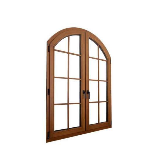 China WDMA European And American Design Casement Wood Window With Full Divided Lites