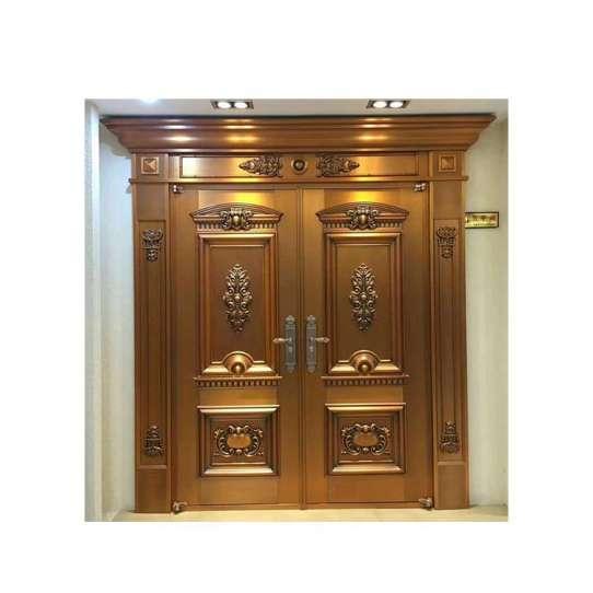 China WDMA Modern Exterior Stainless Steel Door