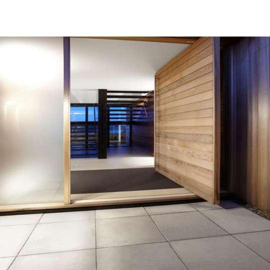 WDMA Exterior Solid Wood Modern Pivot Main Door Entrance Door