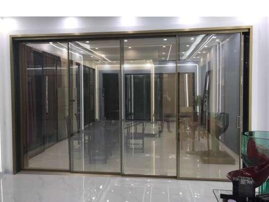 WDMA Aluminum Sliding Door