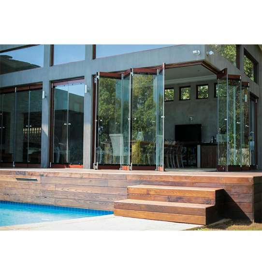 WDMA Frameless Bi Fold Doors