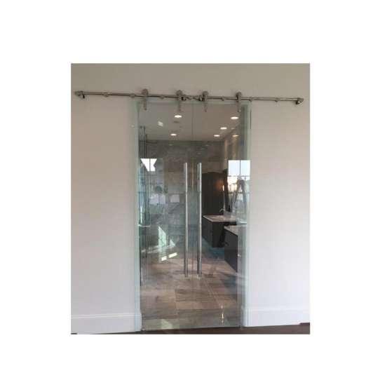 China WDMA Frameless Glass Folding Doors