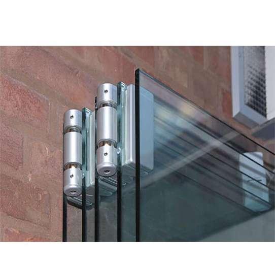 China WDMA Frameless Folding Glass Doors