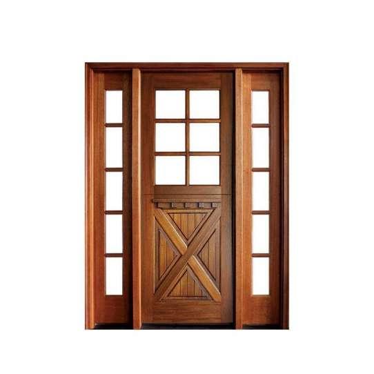 China WDMA main double door wooden